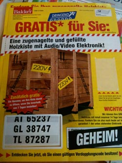 Super Audio/Video-Gewinn bei Bakker
