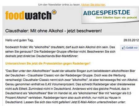 foodwatchclauthaler