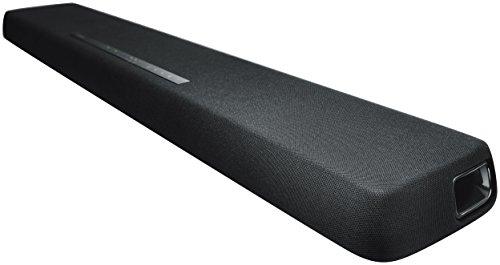 Yamaha YAS-107 Soundbar schwarz – TV Lautsprecher mit Smart-App Steuerung & 3D Surround Sound – Bluetooth kompatibel für kabelloses Musikstreaming