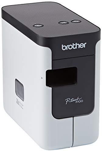 Brother PT-P700 Beschriftungsgerät für den PC (für 3,5 bis 24 mm breite TZe-Schriftbänder, bis zu 30 mm/Sek. Druckgeschwindigkeit)