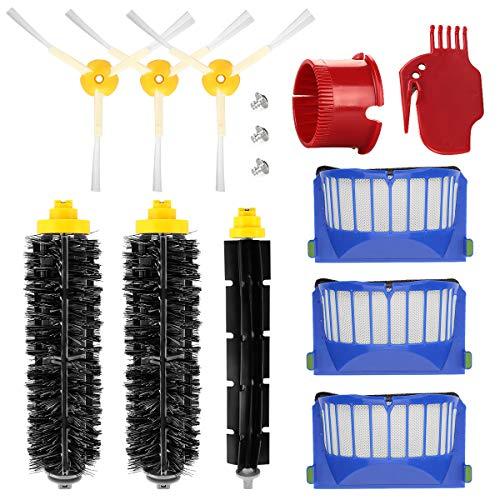 Energup Kit Zubehör Ersatz für Roomba 600 650 620 651 621 615 616 605 Ersatzteile
