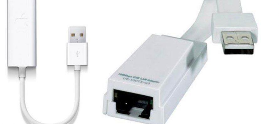 Netzwerkadapter Macbook USB, LAN für Wii, PC, Mac