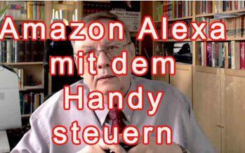 Alexa mit dem Handy steuern