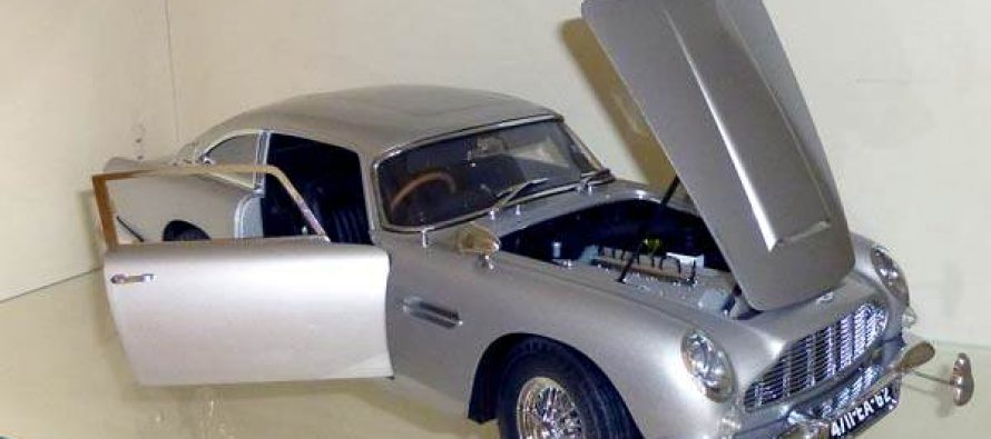 James Bond Aston Martin DB 5 – Eaglemoss-Verlag