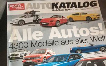 Der Auto-Katalog ist wieder da!