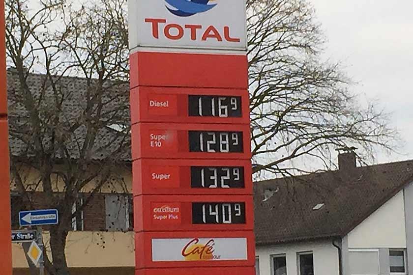 benzinpreise2014