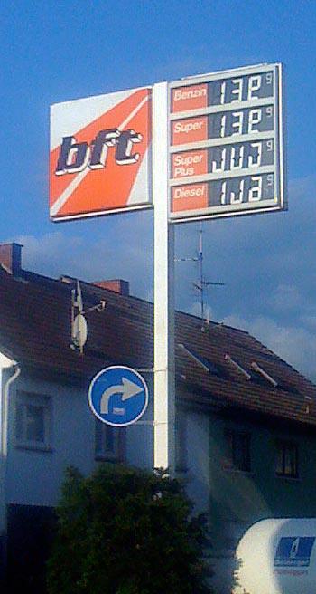 Watt kost Benzin?