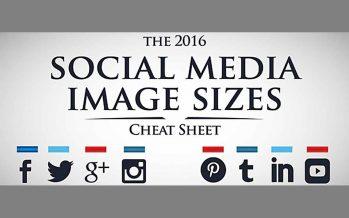 Die wichtigsten Bildergrößen für die sozialen Netzwerke