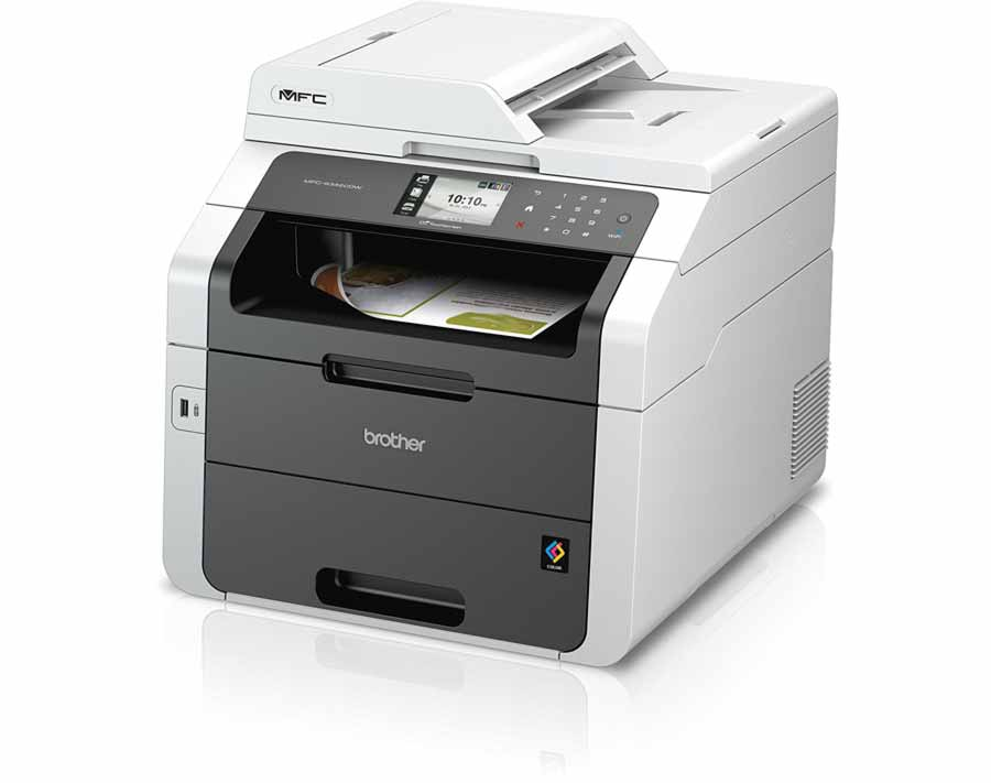 Praxistest: Brother MFC-9342CDW Multifunktionsdrucker