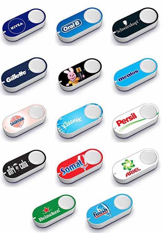 Nivea Dash Button - Elektroschrott fürs Badezimmer