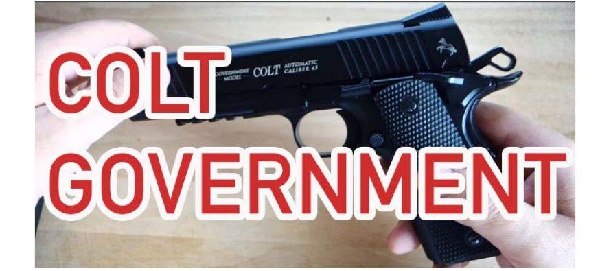 Colt Government Umarex Luftpistole auseinanderbauen und zusammensetzen
