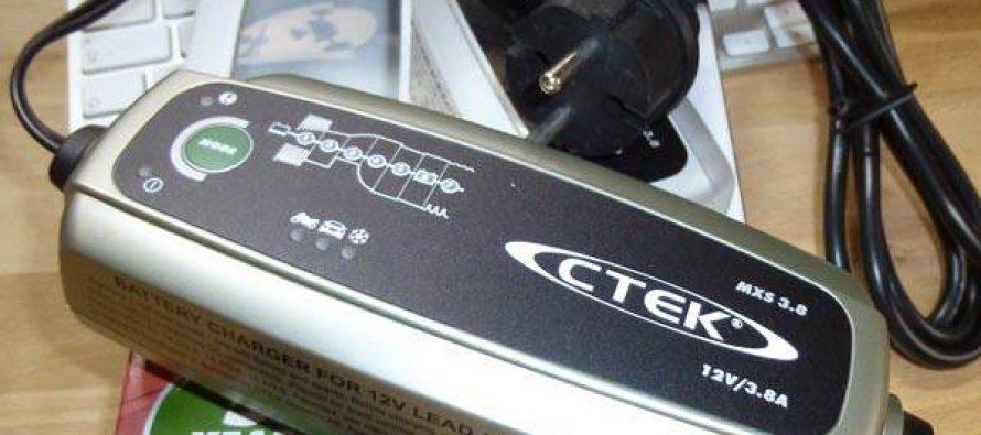 Wenn die Autobatterie mal schwächelt. CTEK Battery Charger MXS 3.8