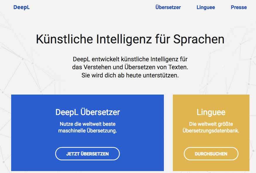 Deepl übersetzt Besser Als Der Google Translator Dreibeinblog