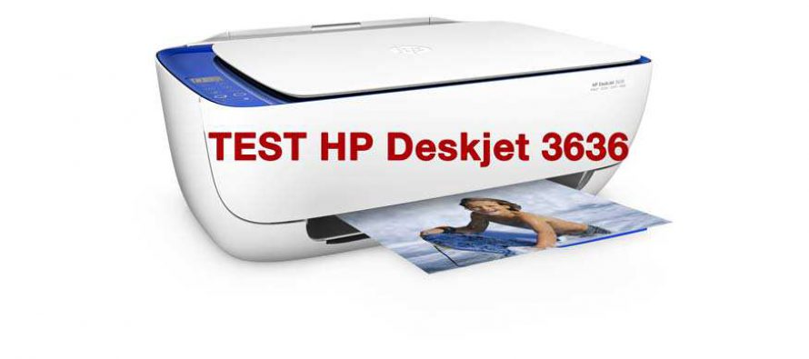Test: HP Deskjet 3636