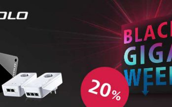 Devolo Black Giga Week – 20% auf alles! (fast)
