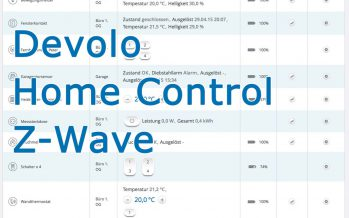 Devolo Z-Wave Homecontrol Smart Home – Teil 3