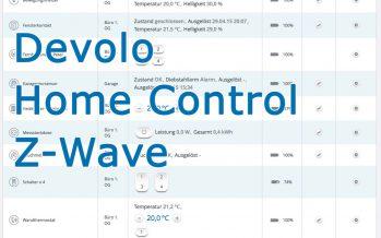 Schalten und Stromverbrauchsmessung mit DEVOLO Home Control Messsteckdose Z-Wave