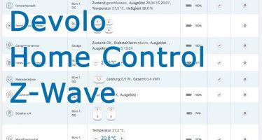 Devolo Z-Wave Homecontrol Smart Home – Teil 3