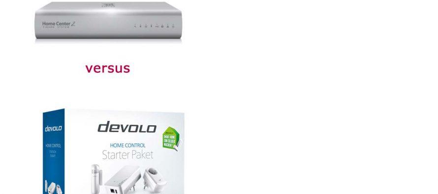 Devolo Home Control versus Fibaro Home-Center 2