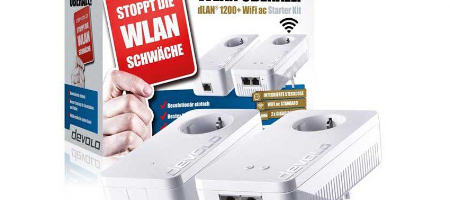WLAN im ganzen Haus – devolo dLAN® 1200+ WiFi ac