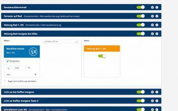 Devolo Software-Update: Regeln erneuern