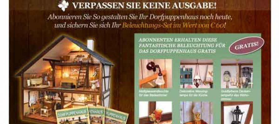 Das Dorfpuppenhaus – Eaglemoss-Verlag