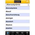 Der Duden - jetzt auch fürs iPhone