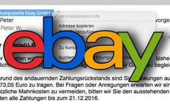 Betrug bei Ebay – Darauf musst Du achten