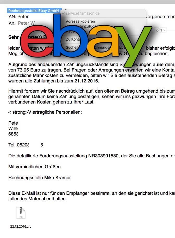 Betrug bei Ebay - Darauf musst Du achten