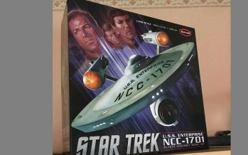 Star Trek Enterprise NCC 1701 Polar Lights Bausatz 1/350 – Teil 1 –