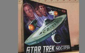Star Trek Enterprise NCC 1701 Polar Lights Bausatz 1/350 – Teil 1 –