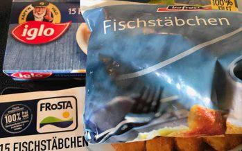 Fischstäbchen – 3 Sorten im Test