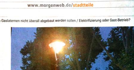 Gastbetrieb Mannheimer Morgen