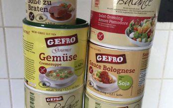 Gefro Balance, Suppen, Saucen und Salatdressings, die schmecken