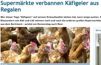 Herzlose Diskriminierung von aasfressenden Vögeln