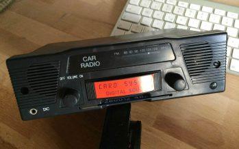 Hurra, ich habe ein Radio gewonnen!