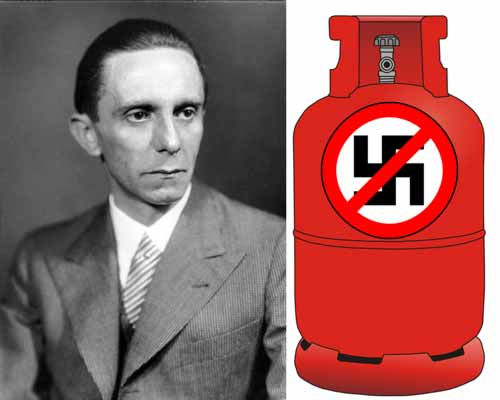Reichspropangasminister Joseph Goebbels. Gute Vorbereitung zählt.