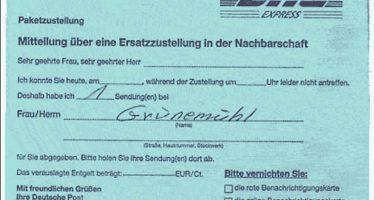 Auf der Suche nach Herrn Grünemühl II