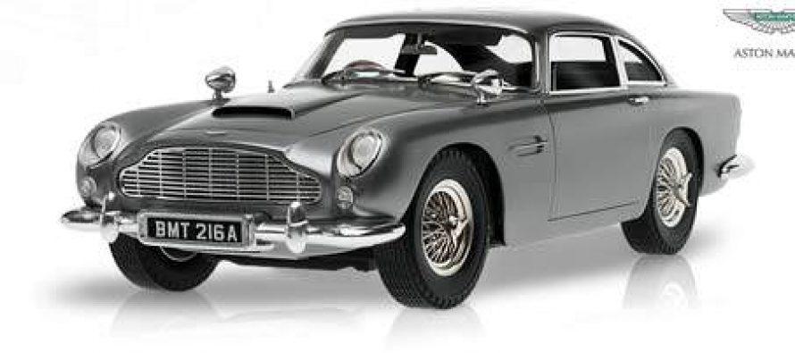 James Bond Aston Martin DB5 – Modell aus dem Eaglemoss-Verlag