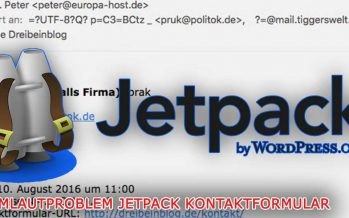 WordPress Jetpack Umlaut Problem beseitigen – So geht es