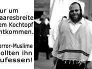Flüchtlinge wollten homosexuellen Juden essen!!!