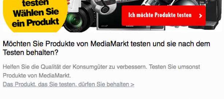 MediaMarkt Produkte testen – So wirst Du abgezockt