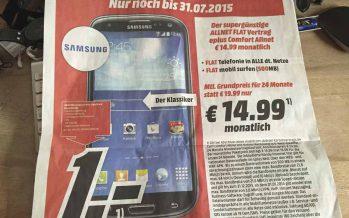Vorsicht bei Handyverträgen vom Media-Markt