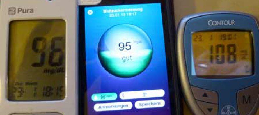 Immer wieder Ausreißer mit Medisana Glucodock Blutzuckermeßgerät -2-