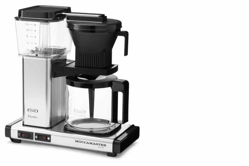 technivorm moccamaster die beste kaffeemaschine der welt. Black Bedroom Furniture Sets. Home Design Ideas