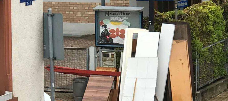 Der ewige Ärger mit dem Sperrmüll – Edingen-Neckarhausen