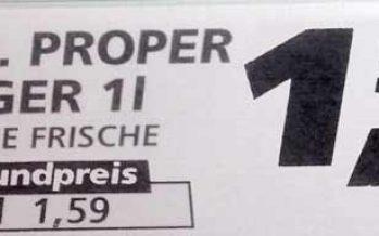 Mr. Proper jetzt auch für Schwarze