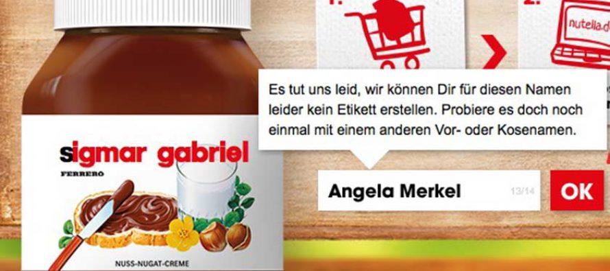 Skandal! Nutella favorisiert SPD – Du wirst schockiert sein!