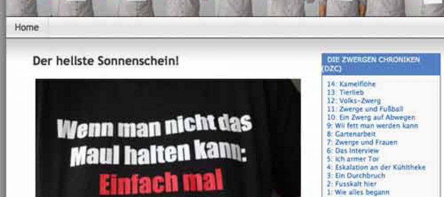 Oppa Eumel und sein neues T-Shirt