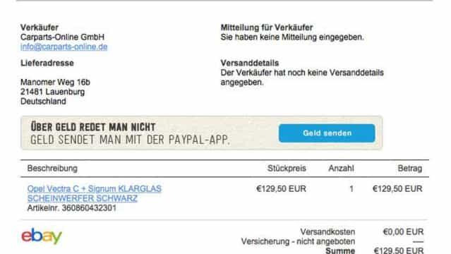 Betrug Mit Paypal